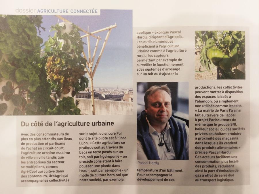 Agriculture urbaine et smart city